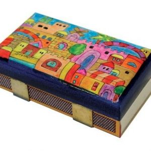 Yair Emanuel Match Box Holder - Kitchen Size Oriental Jerusalem