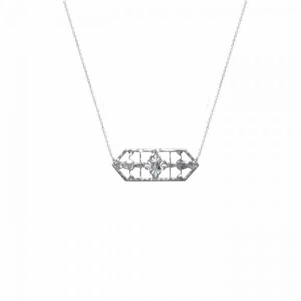 Murkani Vintage Treasure Necklace in Sterling Silver