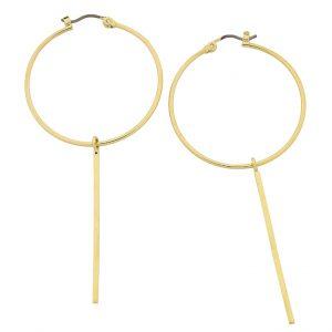 Liberte Ida Gold earrings