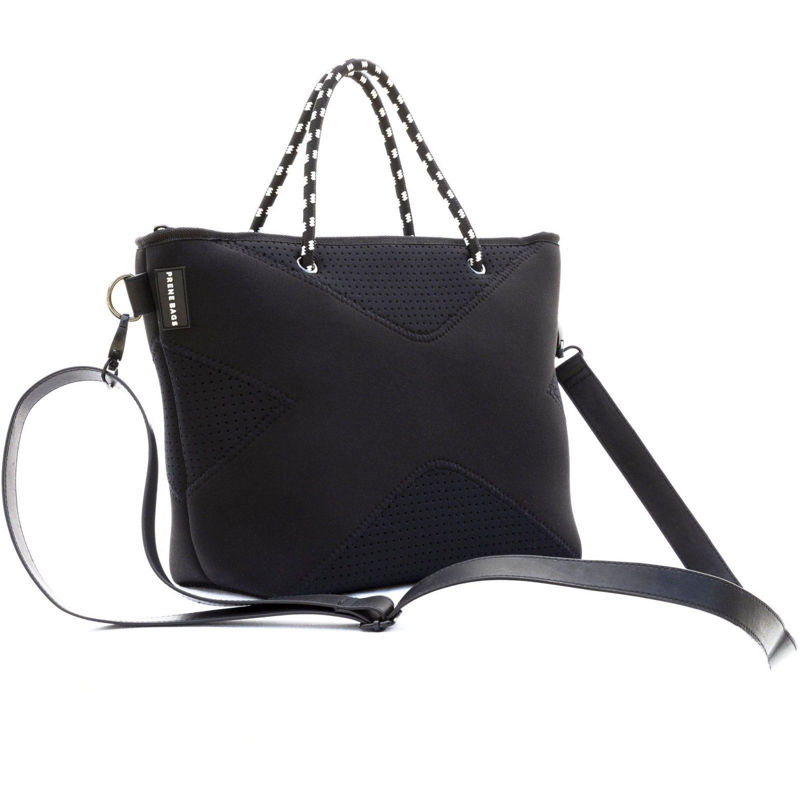 517113a8ca Prene – The XS Bag Black Neoprene Crossbody – Tote Bag – Rubys Gifts